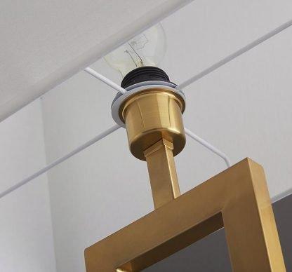 Heathclyf Classic Two-Legged Rectangular Floor Lamp Luxury Design lights