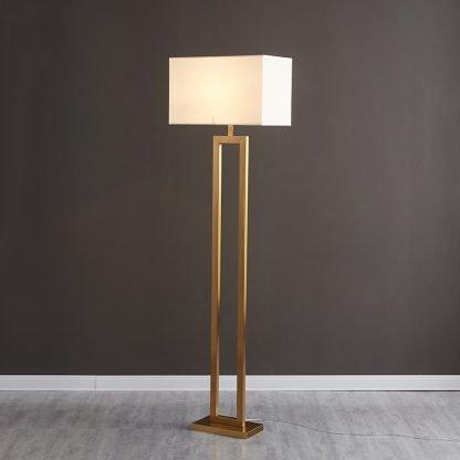 Heathclyf Classic Two-Legged Rectangular Floor Lamp Restaurant lights