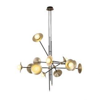Iachimo Modern Trumpet Sputnik Linear Pendant Light
