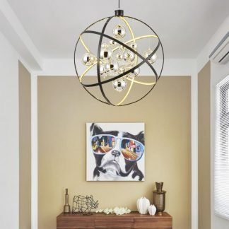 Ibernia Modern Luxury Star Planet Pendant Light