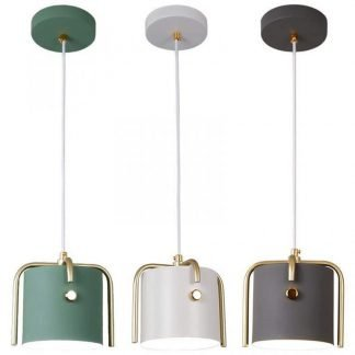 Idette Industrial Retro Antique Pendant Light