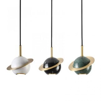 Ivankor Gorgeous Spherical Marble Pendant Light