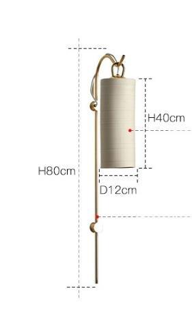 Jacynth Elegant Chic Tubular Shaped Wall Lamp Lounge lights