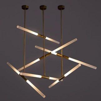 Jacynth Minimalist Contemporary Swing Seesaw Pendant Light