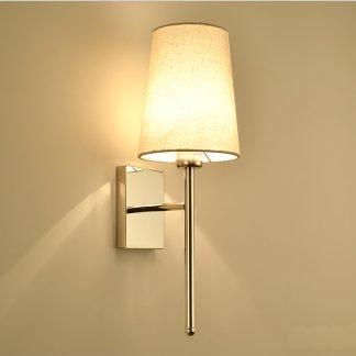 Kelleeka Modern Contemporary Sleek Tall Cone Wall Light
