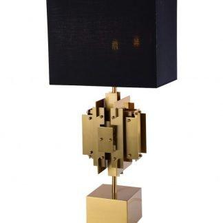 Lacene Modern Constructional Shaped Base Table Lamp