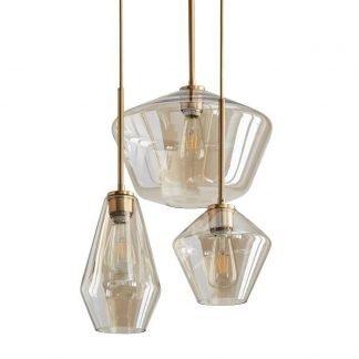 Maarit Modern Decorative Vase Shaped Glass Pendant Light