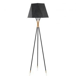 Nysse Modern Tripod Geometric Floor Lamp