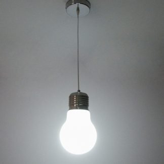Quirino Minimalist Frosted Glass Bulb Pendant Light