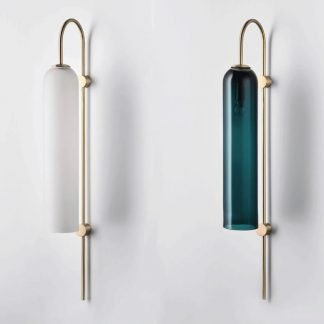 Randale Modern Chic Long Tube Glass Wall Lamp