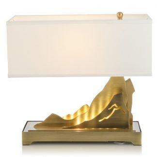 Taban Modern Mountain Range Base Table Lamp