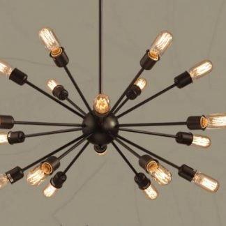 Vyvyan Modern Sputnik Molecule Shaped Pendant Light