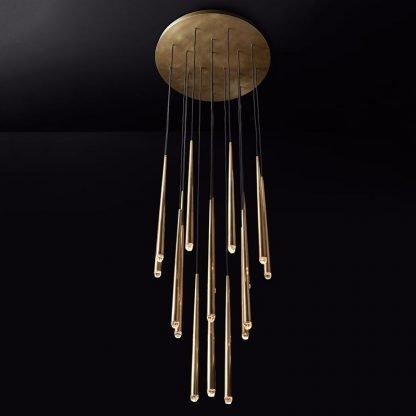 Wadley Modern Water Drop Shaped Pendant Lamp Lobby lights