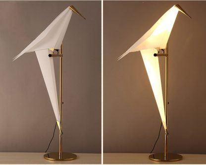 Art Deco Bird Modern Table Lamp
