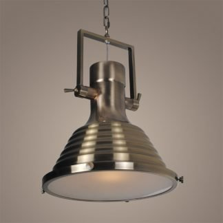 Cosgrave Industrial Modern Classic Dome Pendant Light