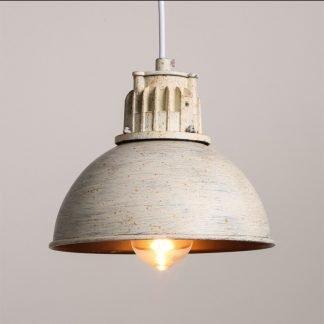 Edmondo Retro Dome Shaped Pendant Light