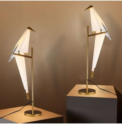 Egmont Art Deco Bird Table Lamp