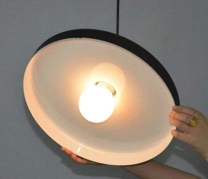 Flat Hat Pendant Light-kitchen