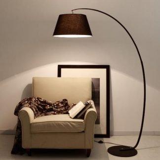 Grenville Minimalist Contemporary Beach Parasol Floor Lamp
