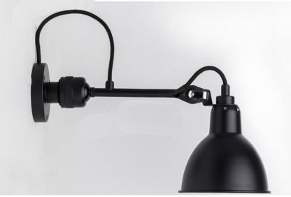 Industrial Swing Arm Bedroom Wall Lamp