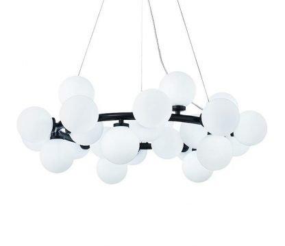 Luxury Ring Balls Bedroom Chandelier Light