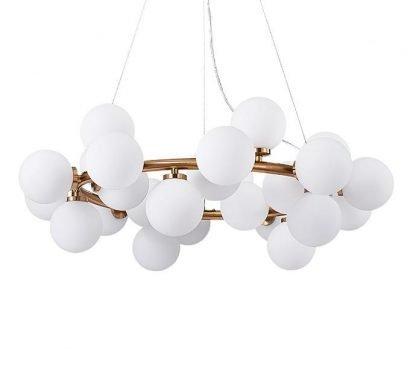 Luxury Ring Balls Kitchen Chandelier Light