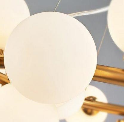 Luxury Ring Balls Lobby Chandelier Light