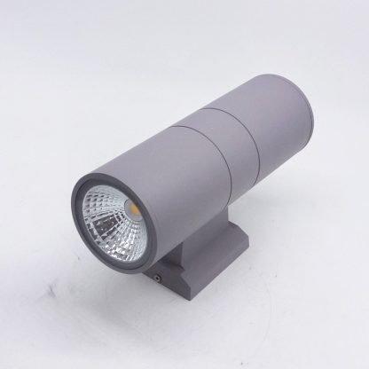 Minimalist Waterproof Spotlight Grey Wall Lamp