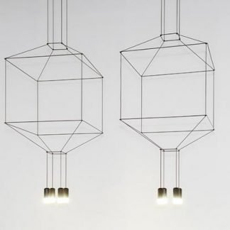 Minne Geometric Art Deco Pendant Light