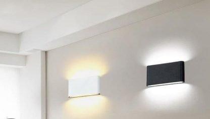Modern Rectangle Flat Corridor Wall Lamp
