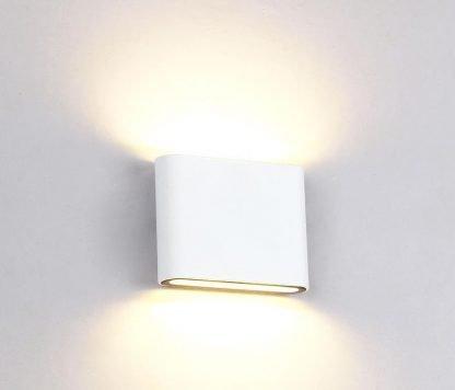 Modern Rectangle Flat Indoor Wall Lamp
