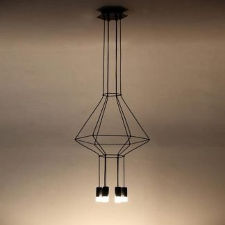 Nestor Geometric Diamond Shaped Pendant Light