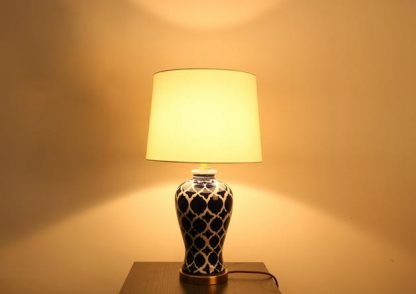 Nettie Mid Century Vase Shaped Table Lamp Restaurant lamps