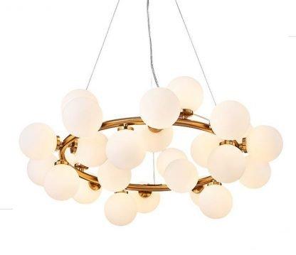 Rioghnach Luxury Ring Balls Chandelier Light
