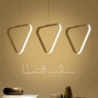 Shirley Minimalist Geometric Silhouette Pendant Light