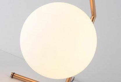 Stylish Globe Glass Entrance Table Lamp