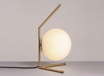 Stylish Globe Glass Office Table Lamp