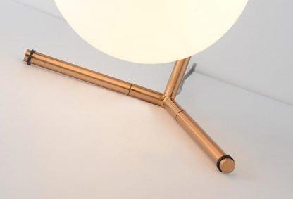 Stylish Globe Glass Reading Table Lamp