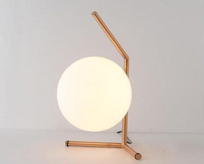 Stylish Globe Glass Restaurant Table Lamp