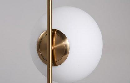 Stylish Globe Glass Workplace Table Lamp