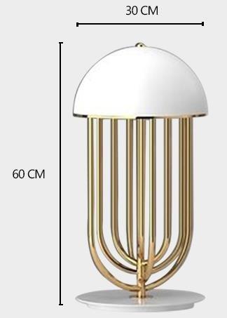 Veleda Contemporary Stylish Design Table Lamp Reading lights
