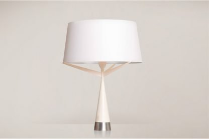 Xyliana Stylish Drum Silhouette Table Lamp Office lights