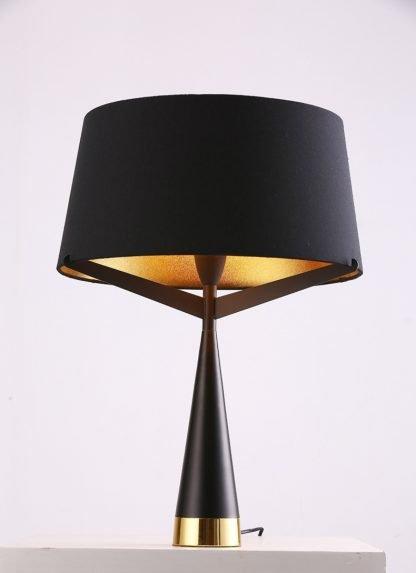 Xyliana Stylish Drum Silhouette Table Lamp Study Area lights