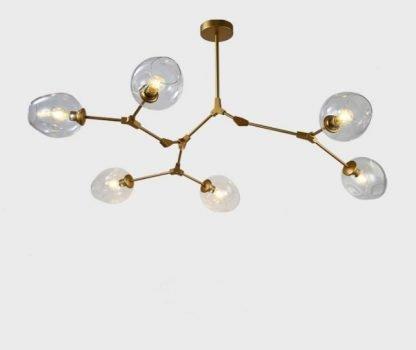Ymir Modern Tree Branch Glass Hall lights Pendant Light