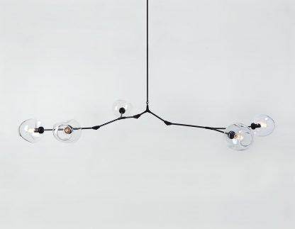 Ymir Modern Tree Branch Glass Pendant Light Cafe lights