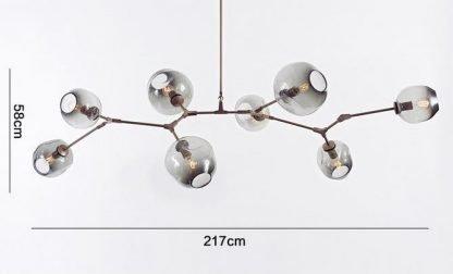 Ymir Modern Tree Branch Glass Pendant Light Restaurant lights