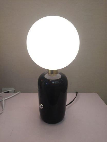 Globe Glass Table Lamp Luxury Design