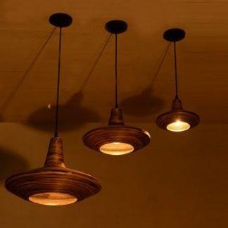 Adad Modern Stunning Wooden Pendant Light