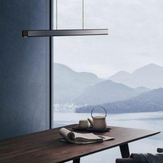 Brennus Contemporary Wooden Accent Pendant Light