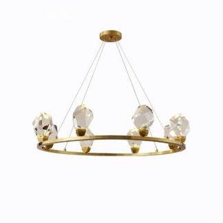 Coriander Luxury Diamond Ring Pendant Light